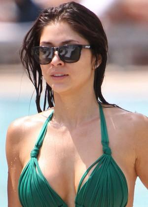 Arianny Celeste Bikini Photos: 2014 in Miami -07