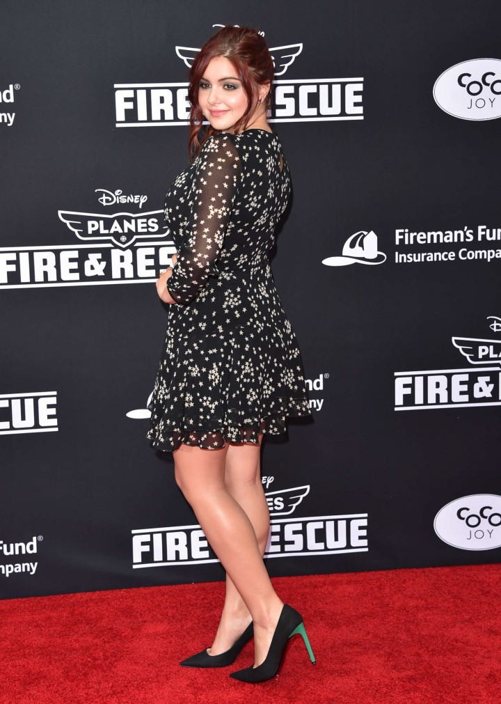 """Ariel Winter – """"Planes: Fire & Rescue"""" Premiere in Hollywood"""