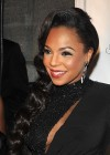 Ashanti showing her cleavage at 2012 Angel Ball in New York