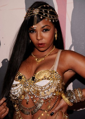 Ashanti - Heidi Klum's 15th Annual Halloween Party in NY