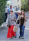 Ashely Benson Out for Lunch With Family in Toluca Lake-06
