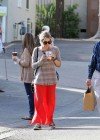 Ashely Benson Out for Lunch With Family in Toluca Lake-09