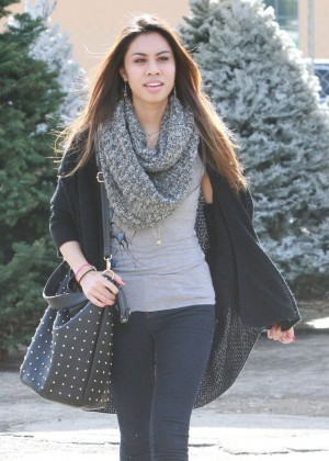Ashley Argota - Christmas Tree Shopping in LA