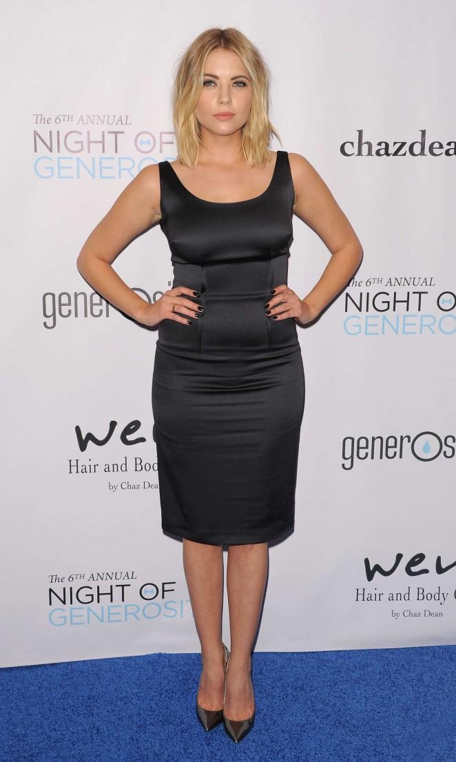 Ashley Benson: 2014 Night Of Generosity Gala -04