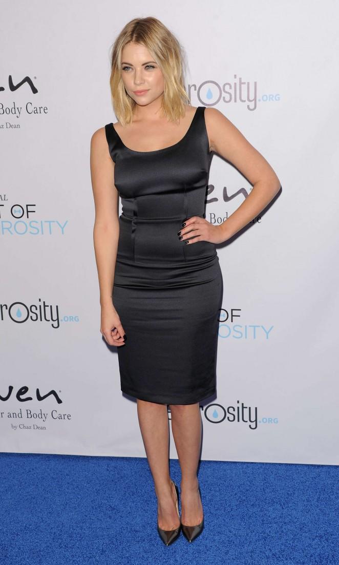 Ashley Benson: 2014 Night Of Generosity Gala -06
