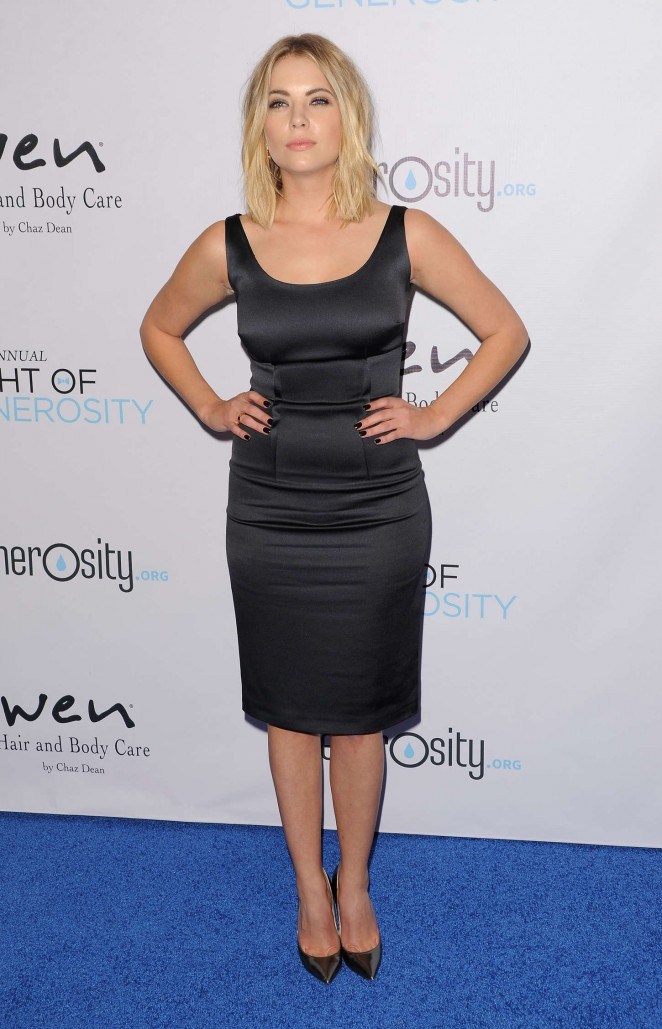 Ashley Benson: 2014 Night Of Generosity Gala -12