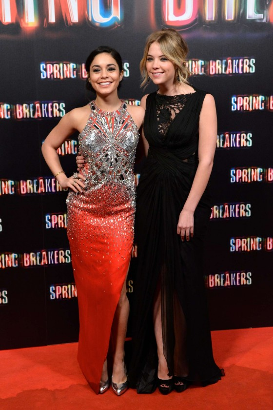 Ashley Benson at Spring Breakers premiere in Madrid-03