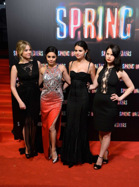 Ashley Benson at Spring Breakers premiere in Madrid-07