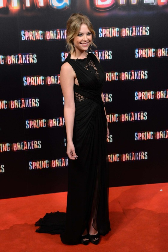 Ashley Benson at Spring Breakers premiere in Madrid-08