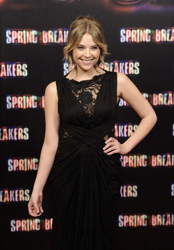 Ashley Benson at Spring Breakers premiere in Madrid-11