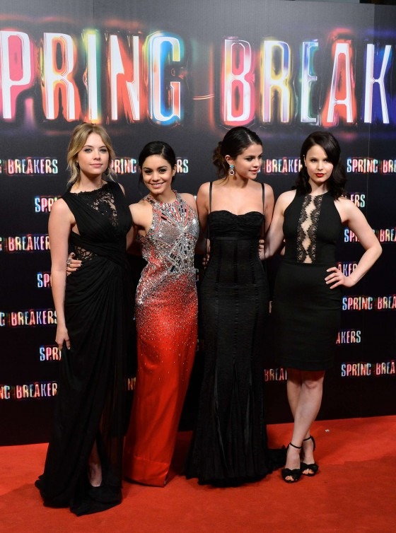 Ashley Benson at Spring Breakers premiere in Madrid-17