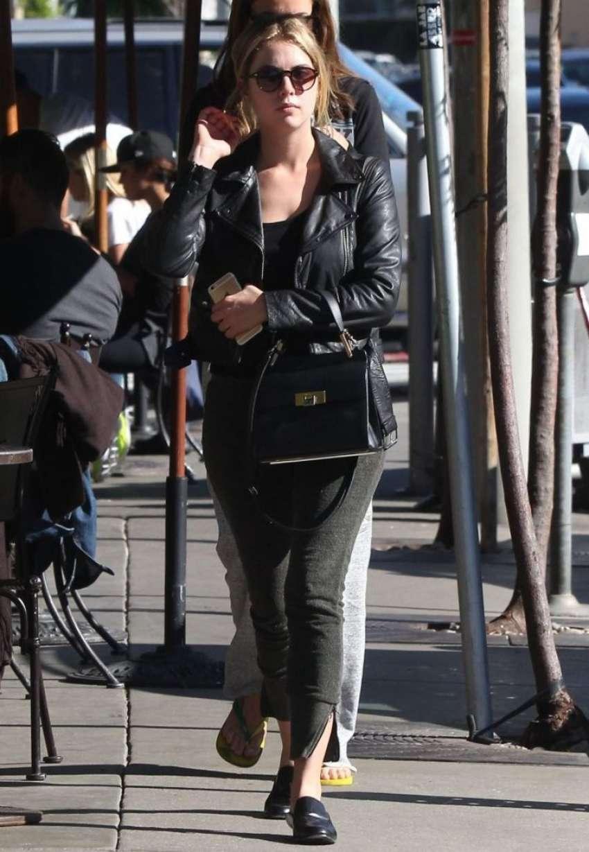 Ashley Benson at Urth Caffe in West Hollywood