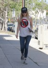 Ashley Benson during LA lunch date -12