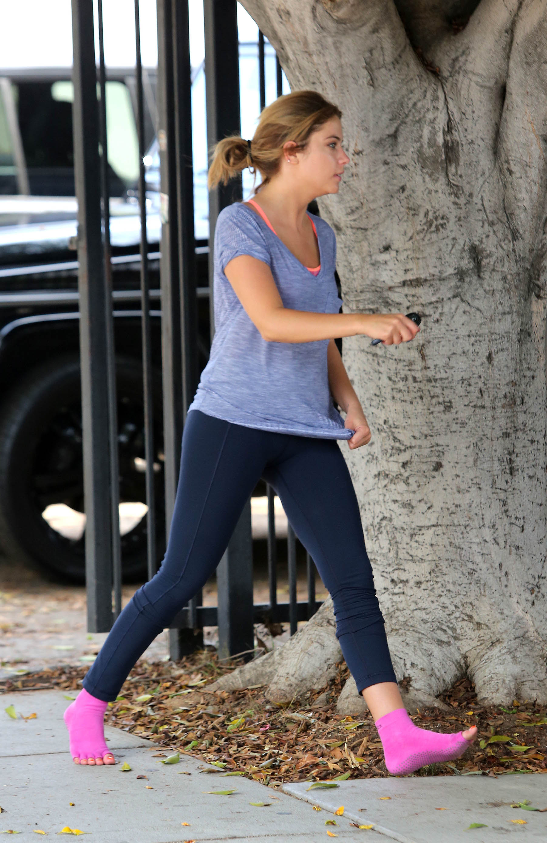 ashley benson at the gym in west hollywood 02 gotceleb