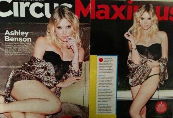 Ashley Benson in Maxim 2013-01