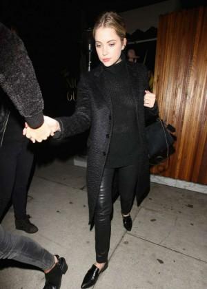 Ashley Benson - Leaving a Nightclub in West Hollywood