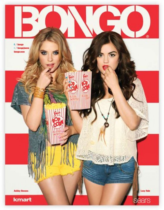 Ashley Benson and Lucy Hale – Bongo Jeans Ads -01