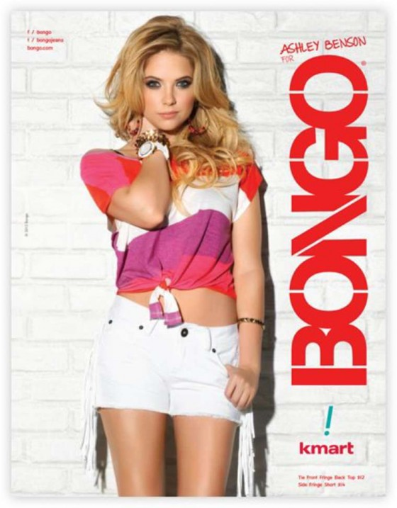 Ashley Benson and Lucy Hale – Bongo Jeans Ads -03