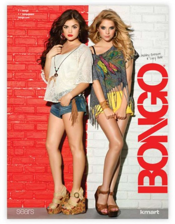 Ashley Benson and Lucy Hale – Bongo Jeans Ads -06