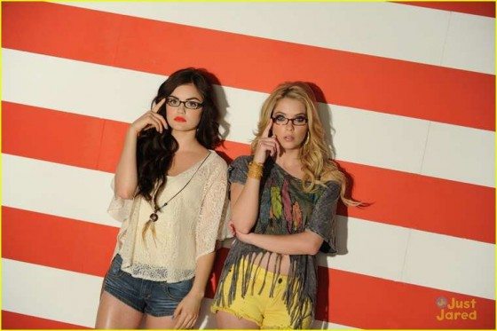 Ashley Benson and Lucy Hale – Bongo Jeans Ads -17