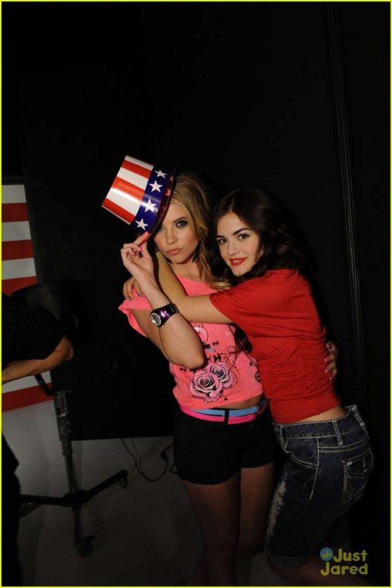 Ashley Benson and Lucy Hale – Bongo Jeans Ads -19