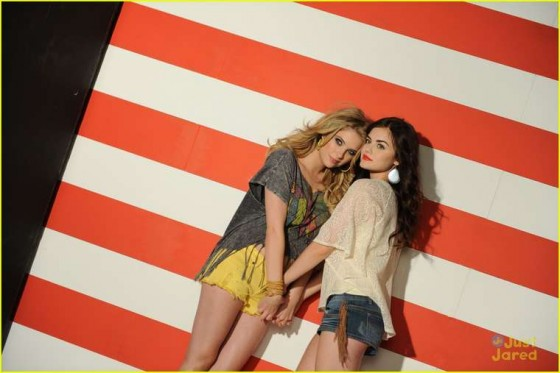 Ashley Benson and Lucy Hale – Bongo Jeans Ads -27