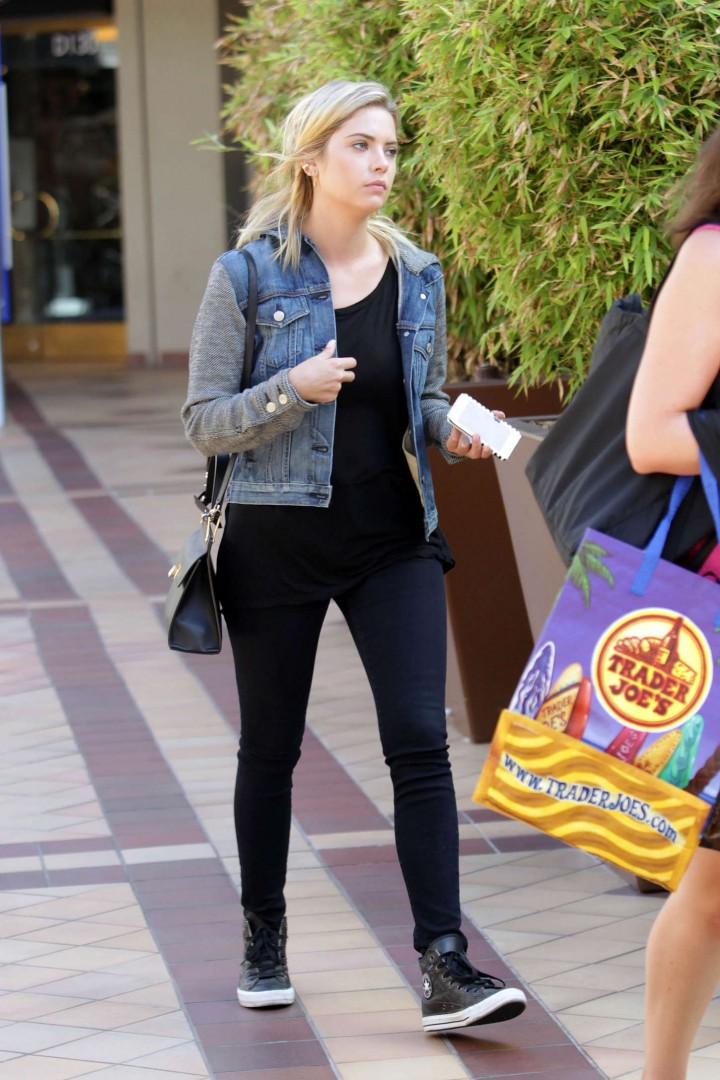 Ashley Benson in Tight Jeans out in LA
