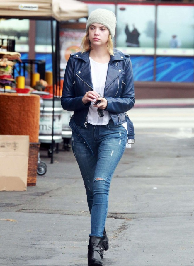 Ashley Benson in Tight jeans - Out Shopping in Los Angeles