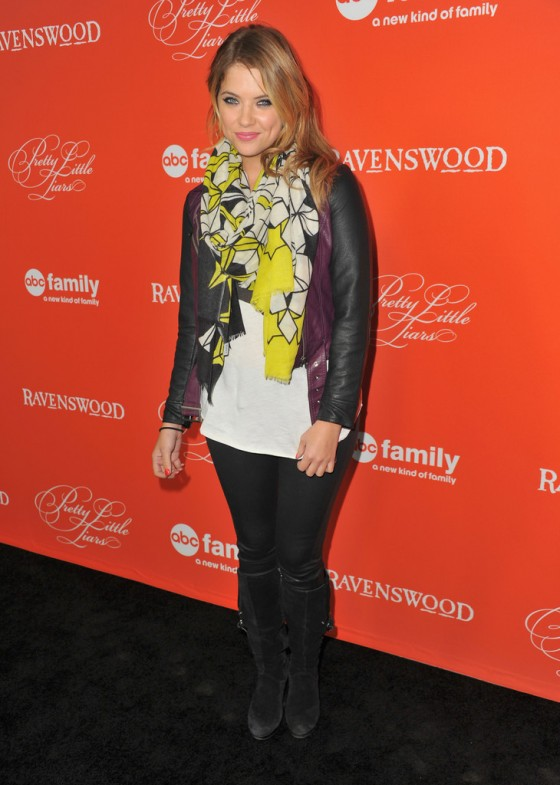 Ashley Benson: Pretty Little Liars Halloween Episode Screening -06