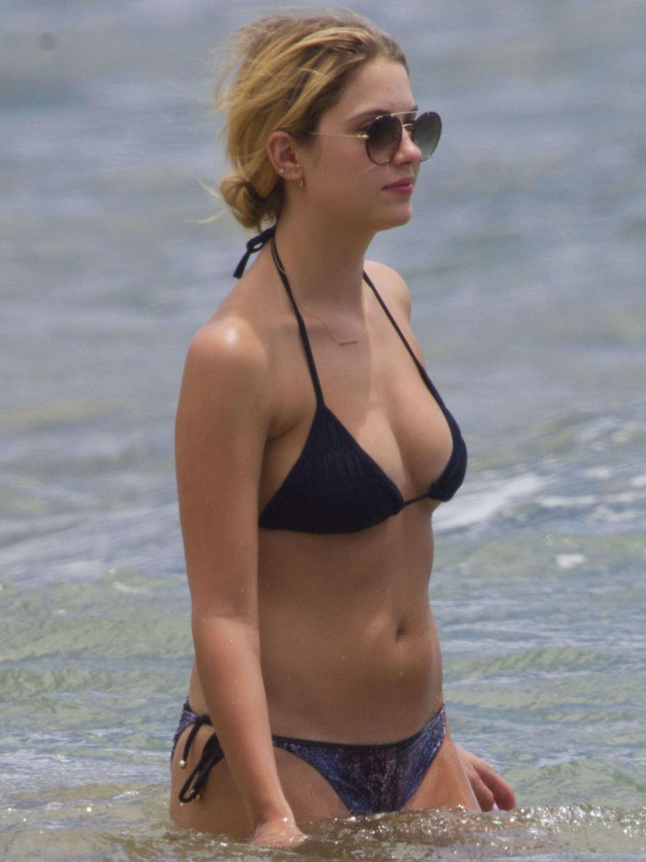 Ashley Benson 2014 : Ashley Benson and Shay Mitchell in Bikini -04
