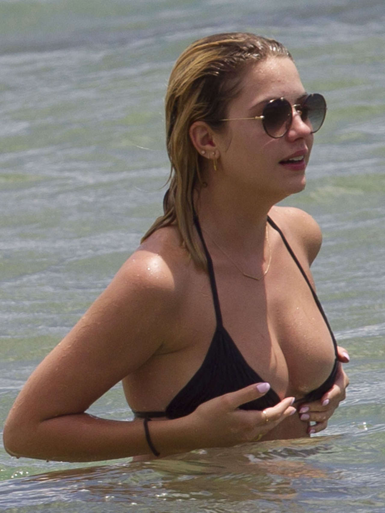 Ashley Benson 2014 : Ashley Benson and Shay Mitchell in Bikini -05