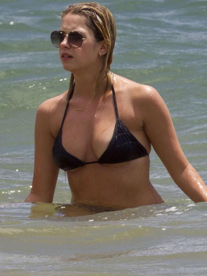 Ashley Benson 2014 : Ashley Benson and Shay Mitchell in Bikini -06