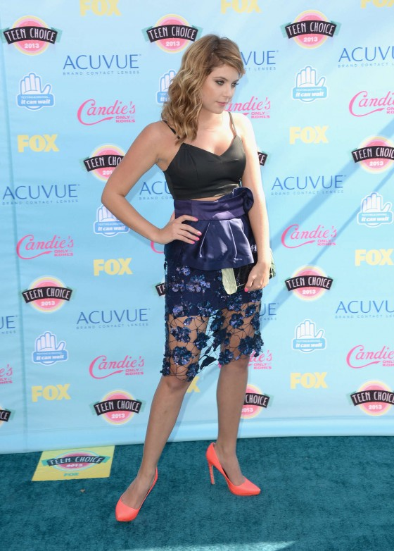 Ashley Benson – Teen Choice Awards 2013 -09