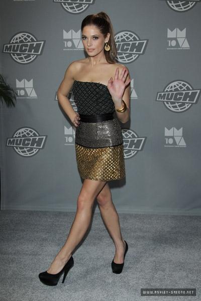 Ashley Greene – 2010 MuchMusic Video Awards in Toronto