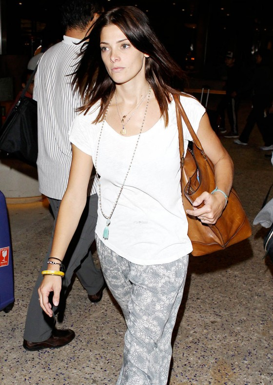 Ashley Greene at LAX -02