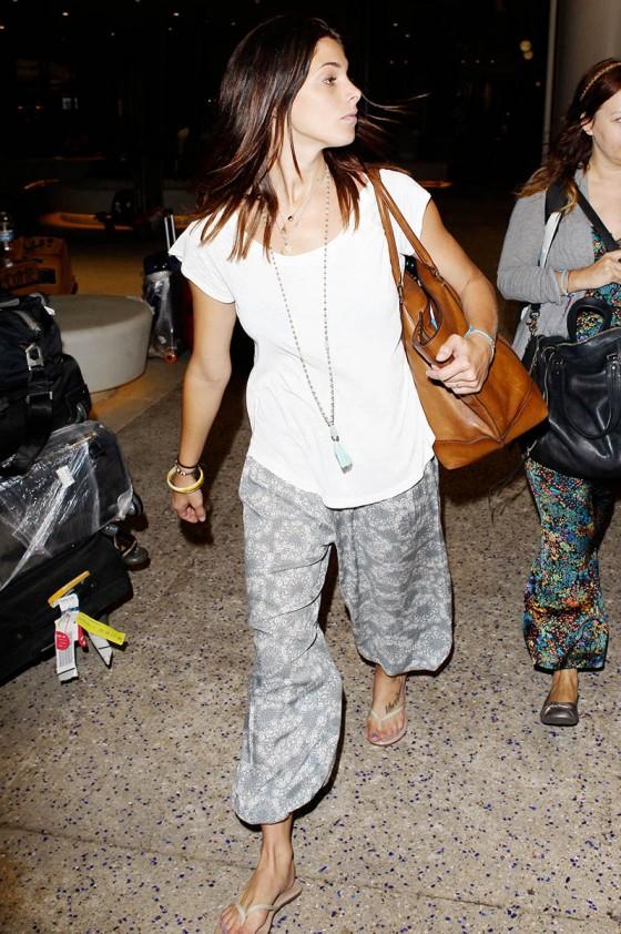 Ashley Greene at LAX -14