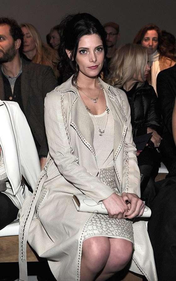 Ashley Greene at Salvatore Ferragamo 2013 fashion show -01