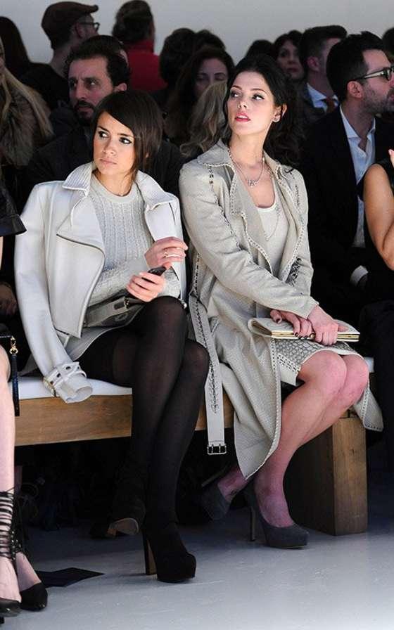Ashley Greene at Salvatore Ferragamo 2013 fashion show -03