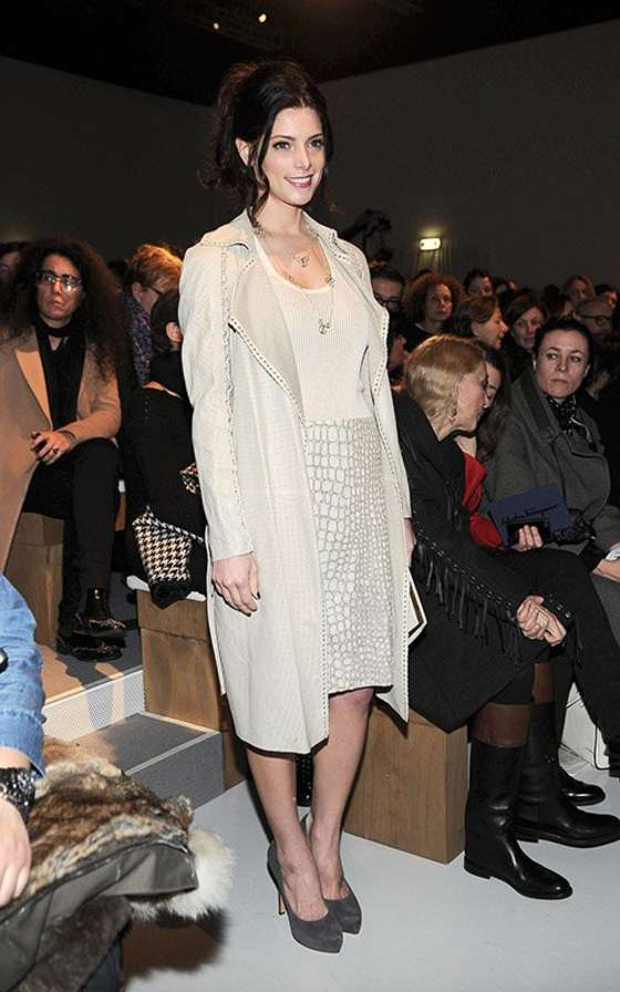 Ashley Greene at Salvatore Ferragamo 2013 fashion show -04