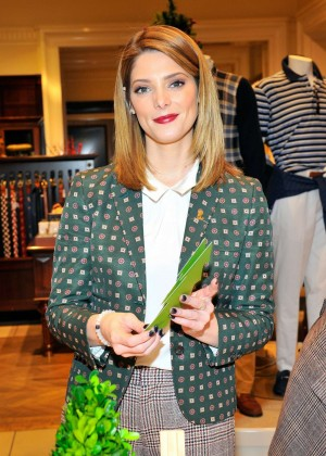 Ashley Greene - Brooks Brothers Celebrates The Holidays in Beverly Hills