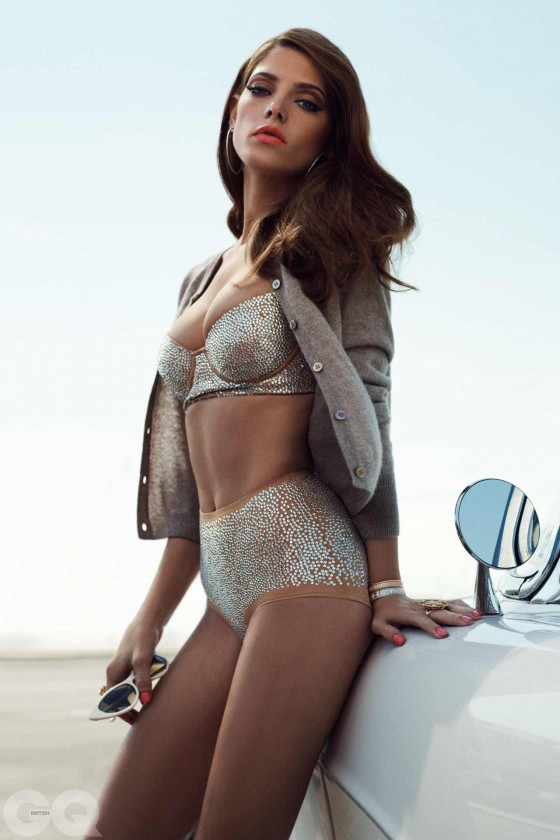 Ashley Greene – GQ UK 2012-02