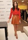 Ashley Greene legs in short skirt gor for DKNY