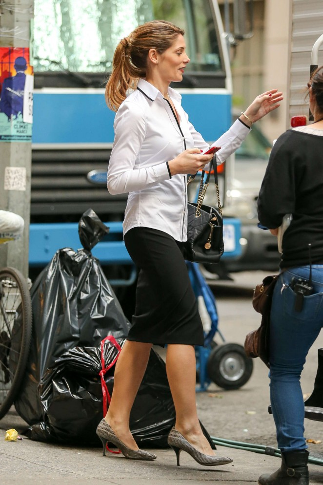 Ashley Greene on the set of her new project 'Urge'