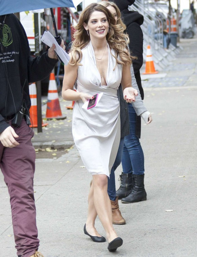 "Ashley Greene - Filming ""Urge"" set in NY"