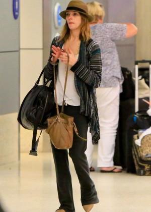 Ashley Greene at LAX -02