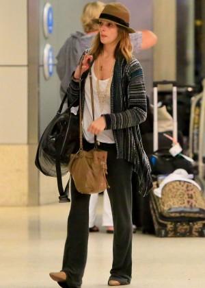 Ashley Greene at LAX -07