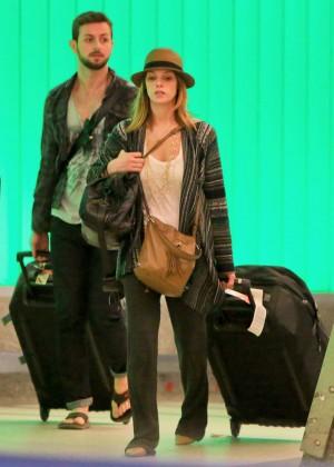Ashley Greene at LAX -11