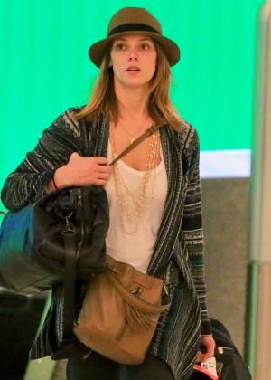 Ashley Greene at LAX -13