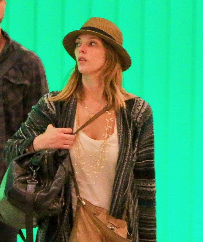 Ashley Greene at LAX -22