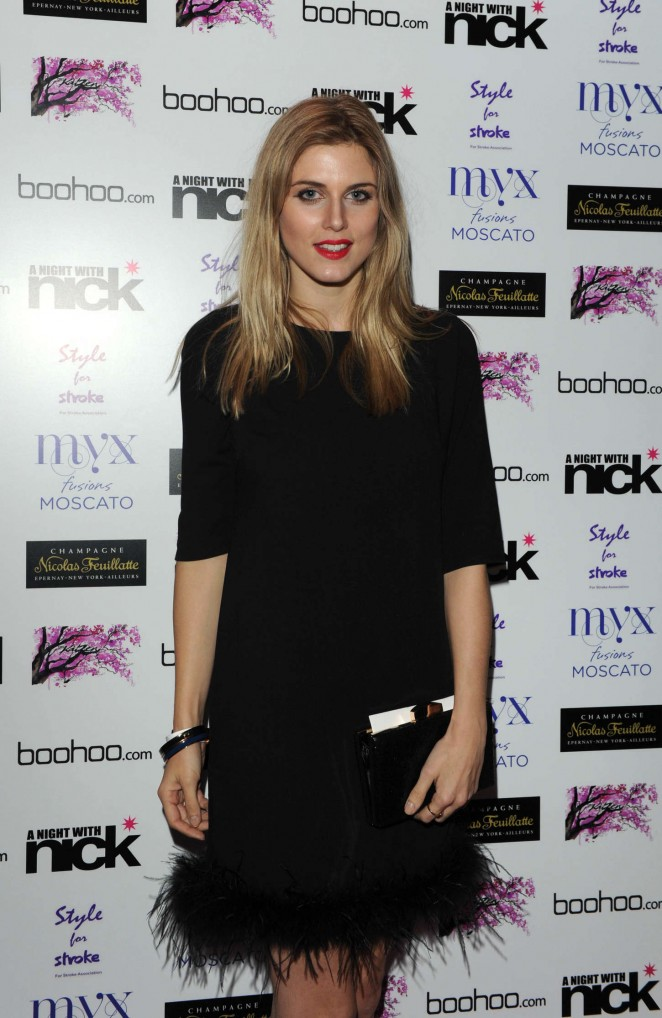 "Ashley James at ""A Night With Nick"" in London"